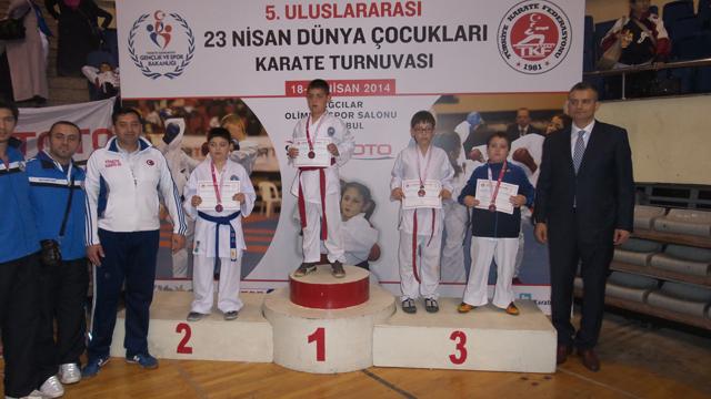 6.Uluslararası 23 Nisan Dünya Çocukları Karate Turnuvası 57